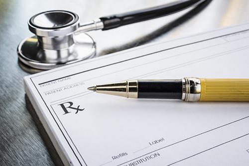 a doctor's prescription